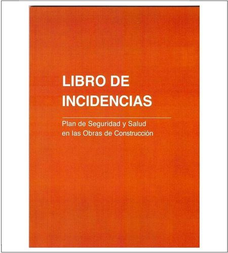 Libro de Incidencias.