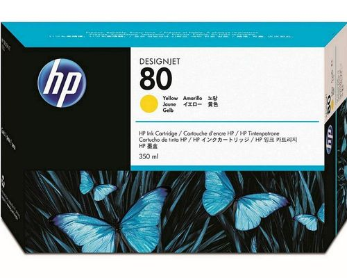 Cartucho HP 80 C4848A Yellow.