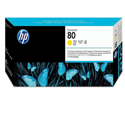 Cabezal HP 80 C4823A Yellow.