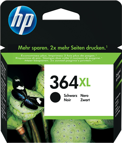 Cartucho HP 364XL CN0684 Negro.