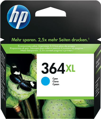 Cartucho HP 364XL CB323 Cyan.