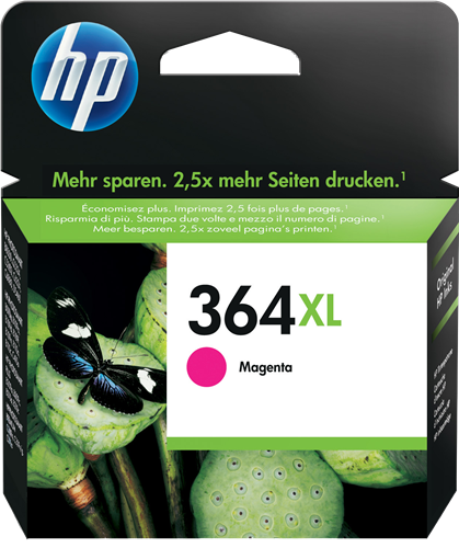 Cartucho HP 364XL CB324 Magenta.