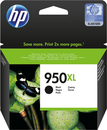 Cartucho HP 950XL CN045 Negro.