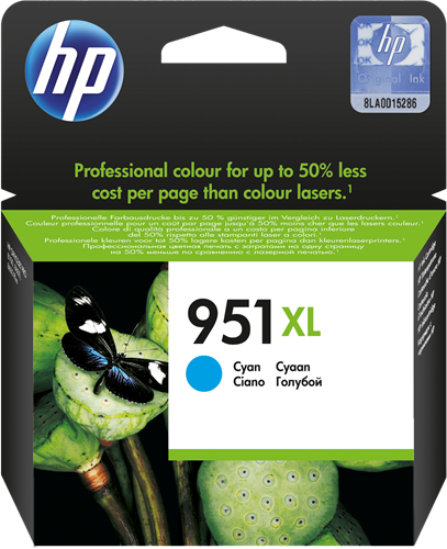 Cartucho HP 951XL CN046 Cyan.