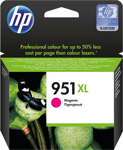 Cartucho HP 951XL CN047 Magenta.