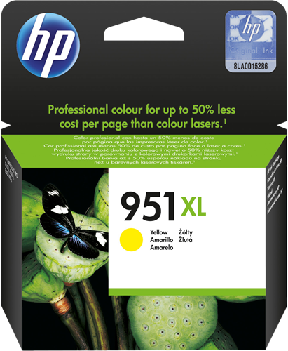 Cartucho HP 951XL CN048 Yellow.