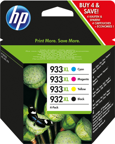 Cartuchos HP932XL+933XL C2P42.