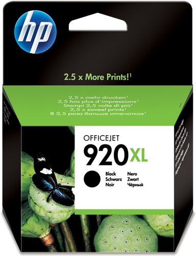 Cartucho HP 920XL CD975 Negro.