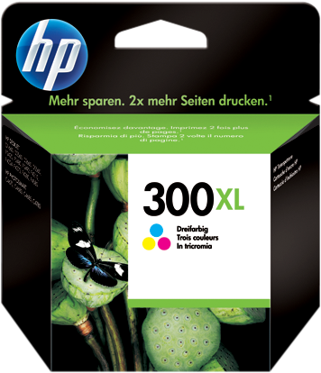 Cartucho HP 300XL CC644 Color.