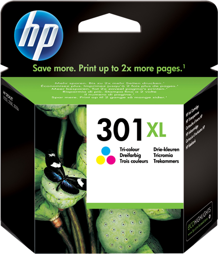 Cartucho HP 301XL CH564 Color.