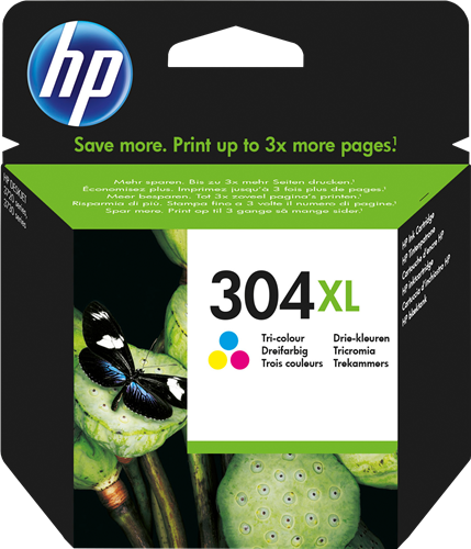 Cartucho HP 304XL N9K07 Color.