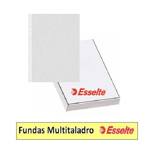 Fundas Multitaladro PP Esselte.