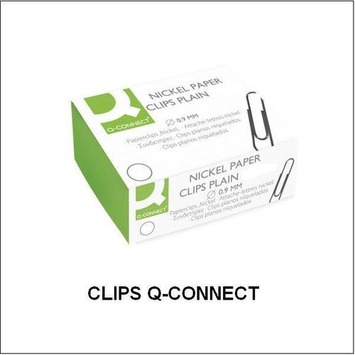 Clips Niquelados Q-CONNECT