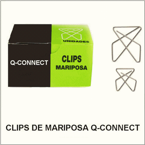 Clips de Mariposa Q-CONNECT.