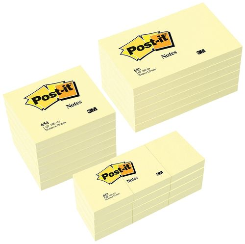 Blocs Notas Reposicionables 3M Post-it