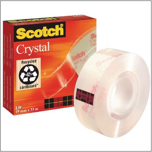 Cinta Adhesiva SCOTCH Crystal.