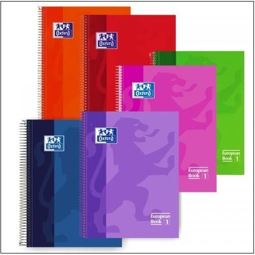 Cuadernos Oxford EuropeanBook 1 Classic.