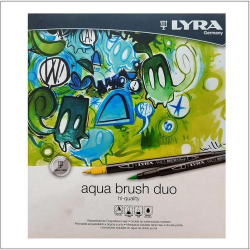 Rotuladores Pincel Lyra Aqua Brush Duo